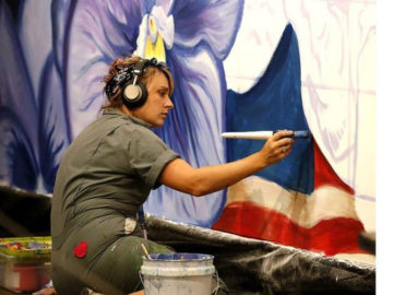 Resilience: a live mural painting exhibit